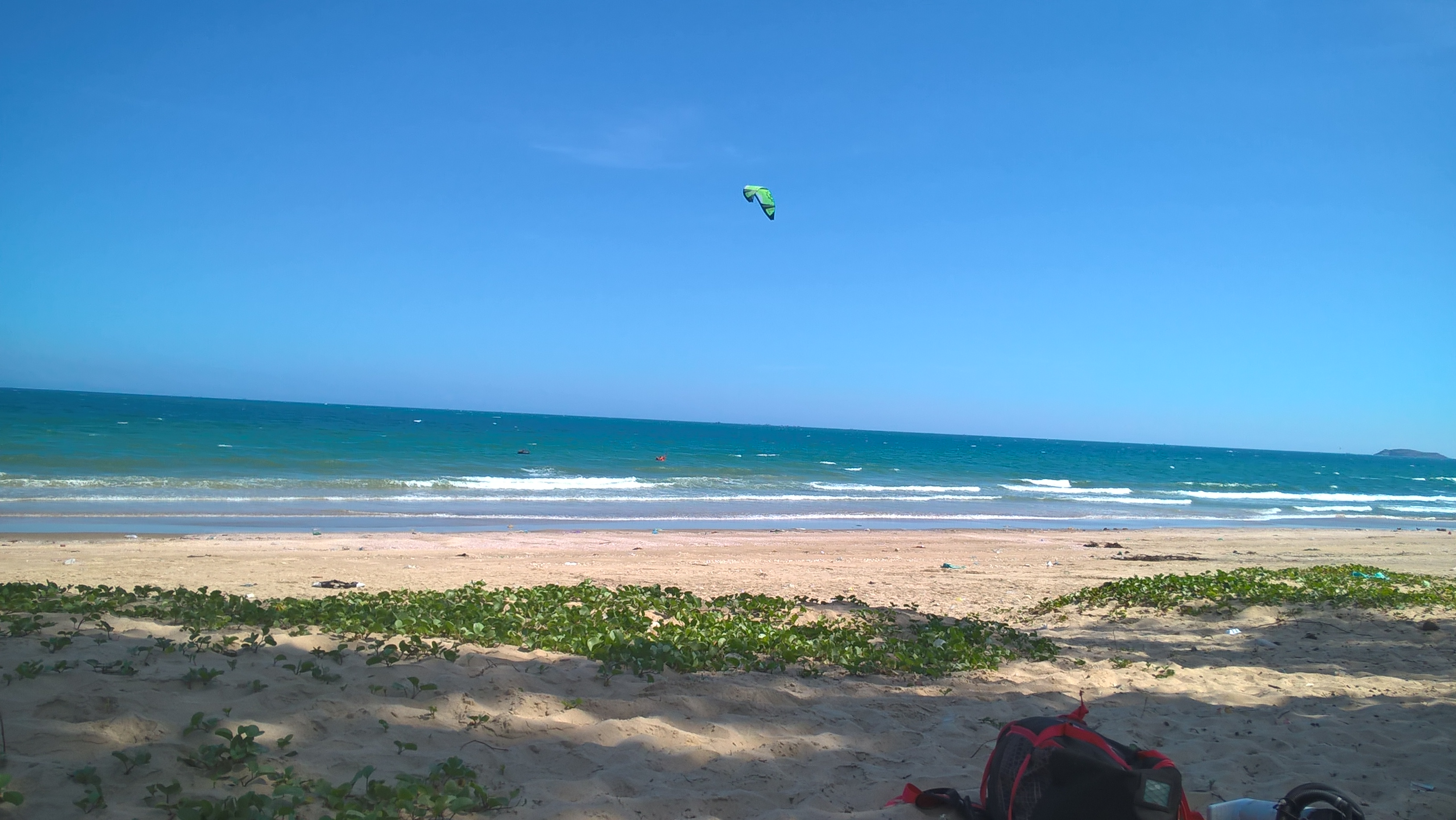 The One Of The Best Days For Kitesurfing in Mui ne in Year